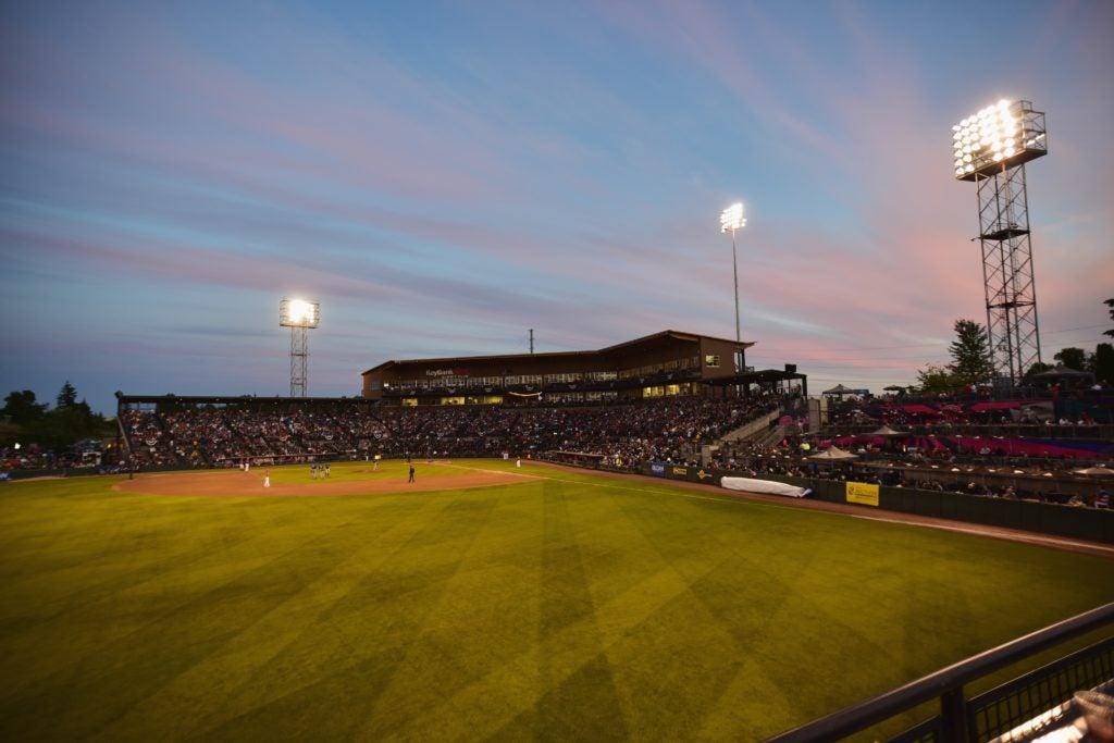 Cheney Stadium night game