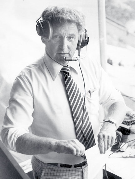 Bob Robertson in Booth