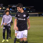 Josh Atencio smiles after victory at Cheney Stadium