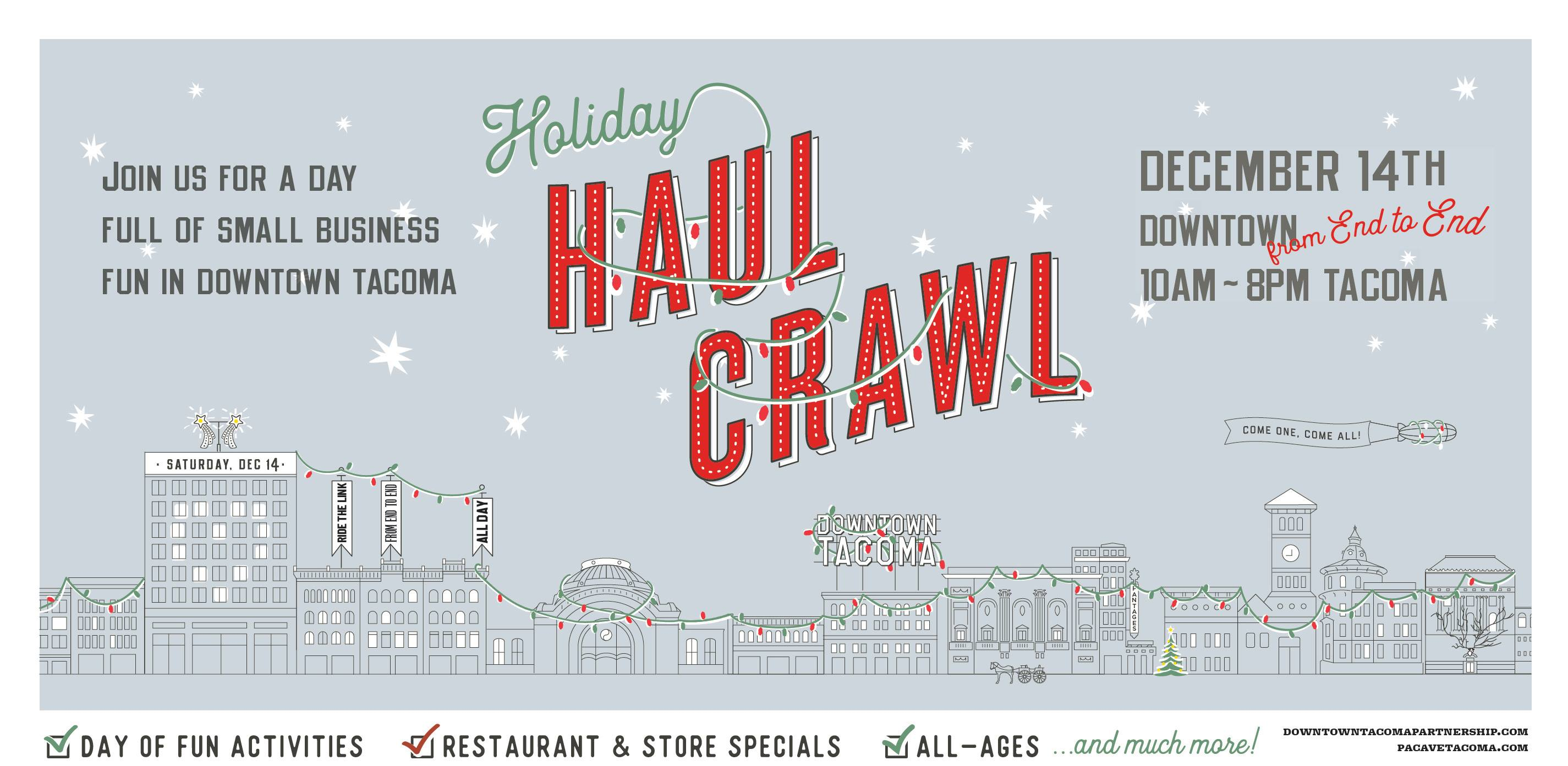 Holiday Haul Crawl graphic
