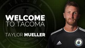 Welcome to Tacoma, Taylor Mueller