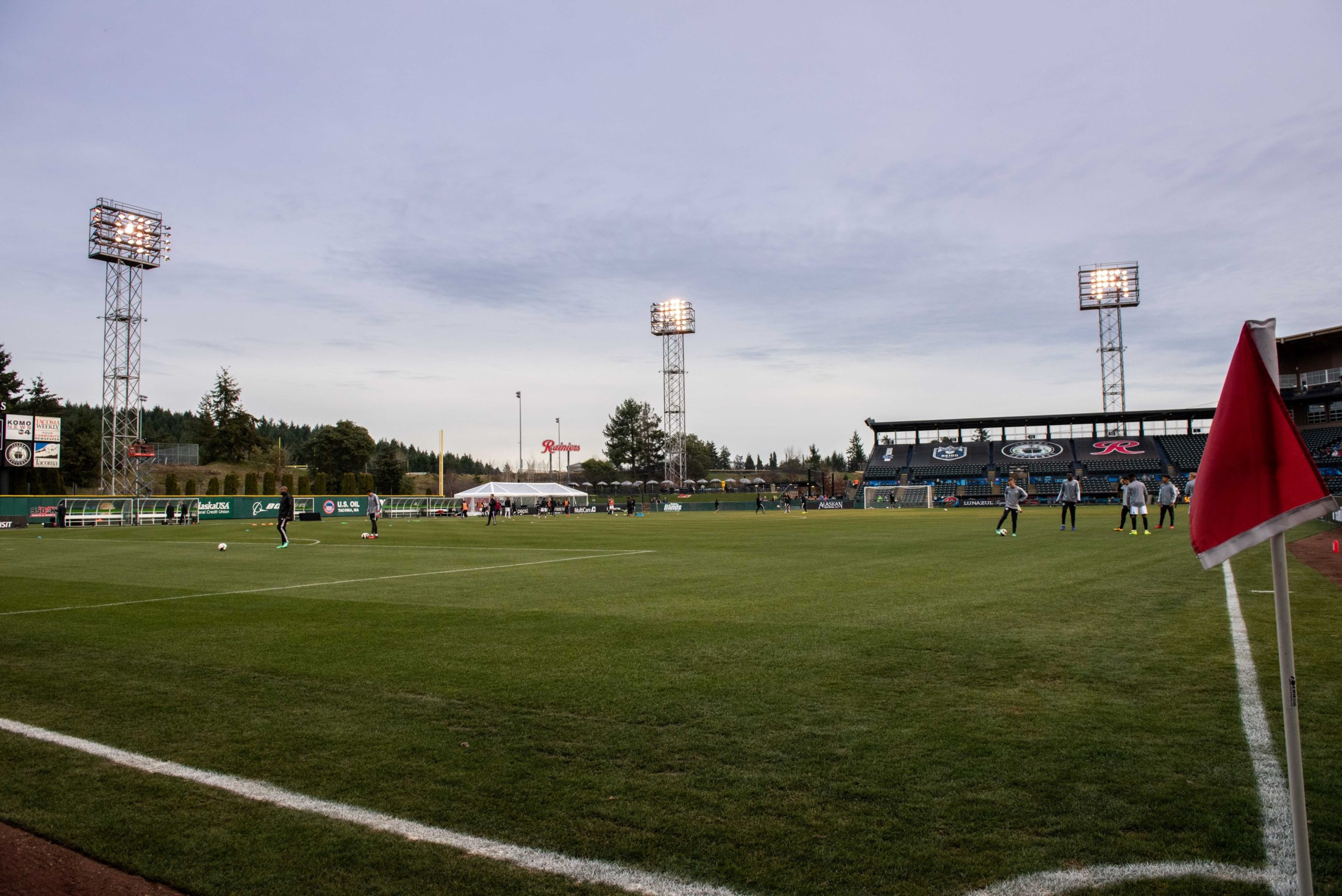 Cheney Stadium is ready for the home opener