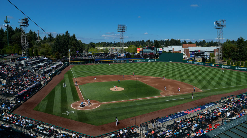 Day Game at Cheney Stadium