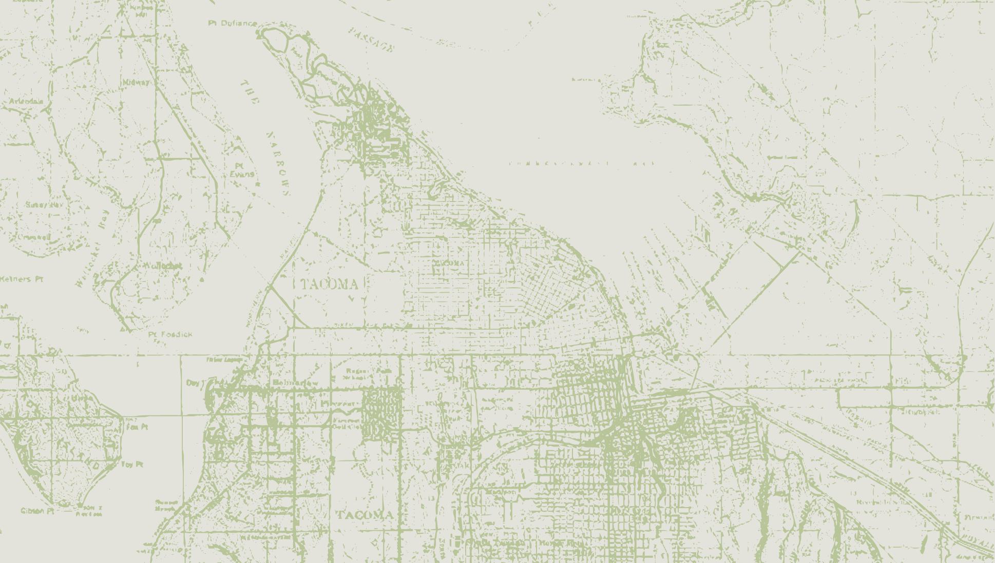 Map of Tacoma