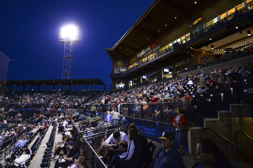 Cheney Stadium stands