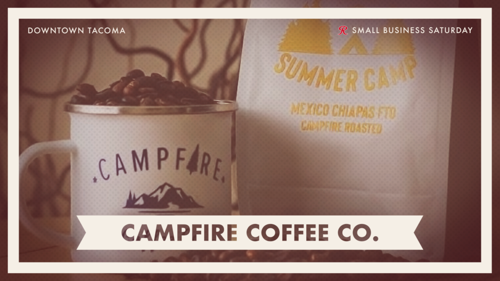 Shop Campfire Coffee Co. on Small Business Saturday