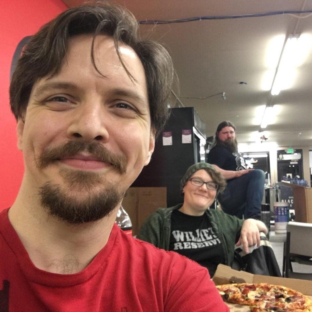 Cody Turk and Terracrux Games Staff