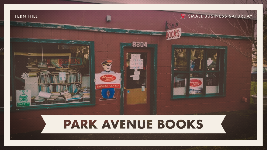 Shop Park Avenue Books on Small Business Saturday
