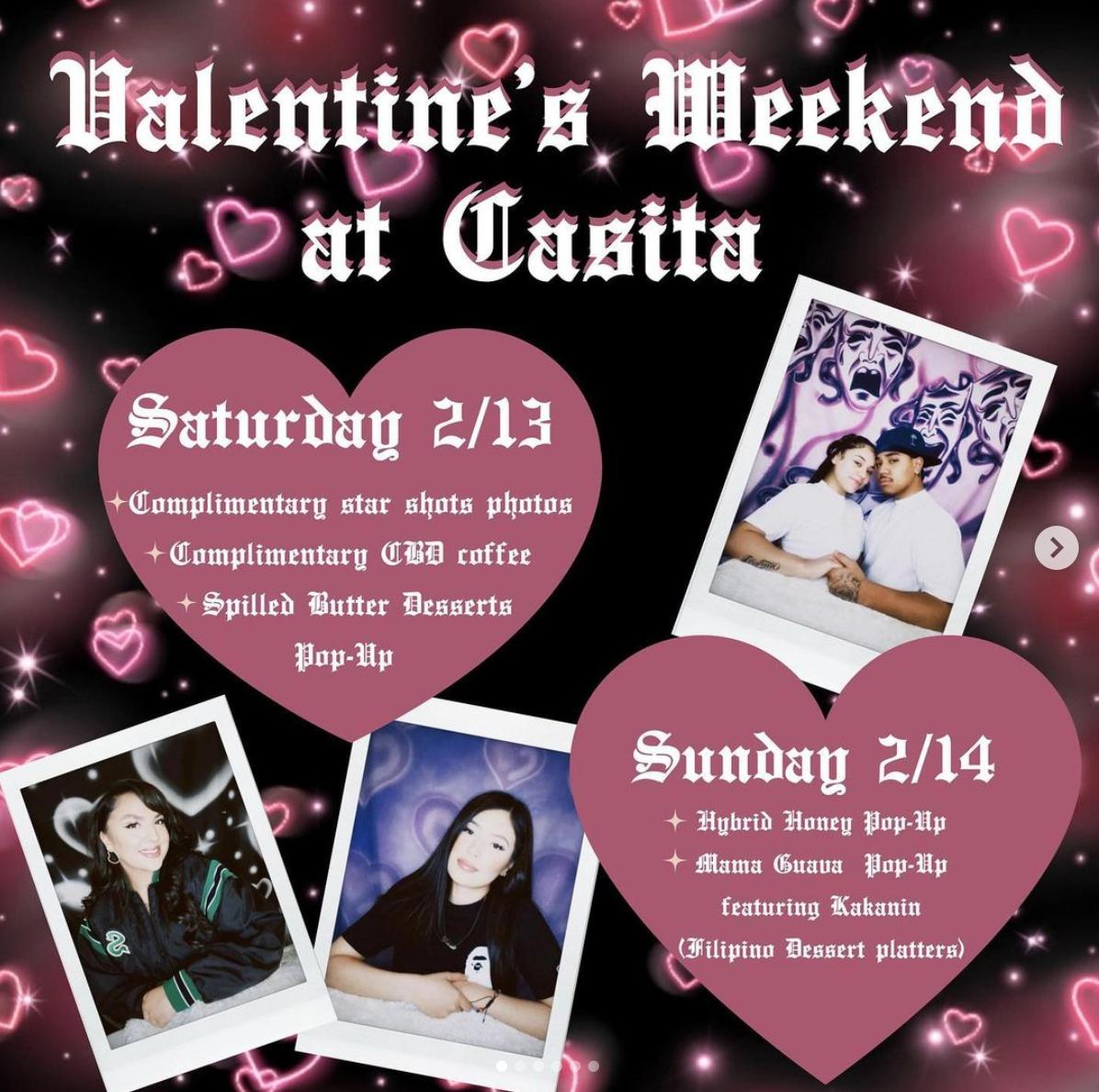 Valentine's Weekend at Casita information